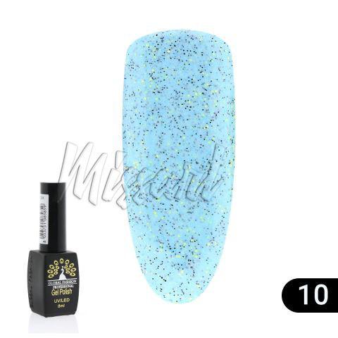 Гель лак Global Fashion Black Elite Sand Песок №10
