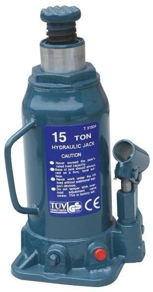 Домкрат бутылочный 15 т 230-460 мм TORIN T91504