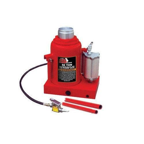 Домкрат бутылочный пневмо-гидравлический 50 т 290-450 мм TORIN TRQ50002