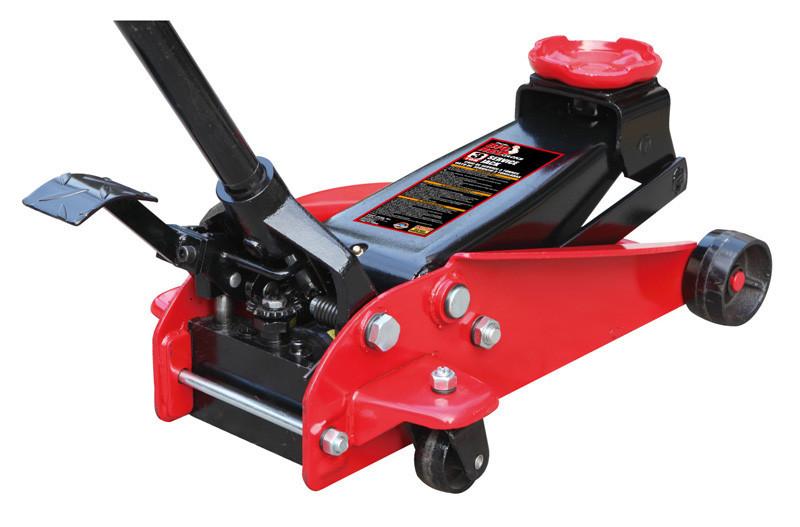 Домкрат подкатной профессиональный 3 т с педалью 150-490 мм TORIN T83000ET