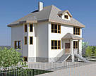 Архитектурный проект дома, коттеджа, фото 2