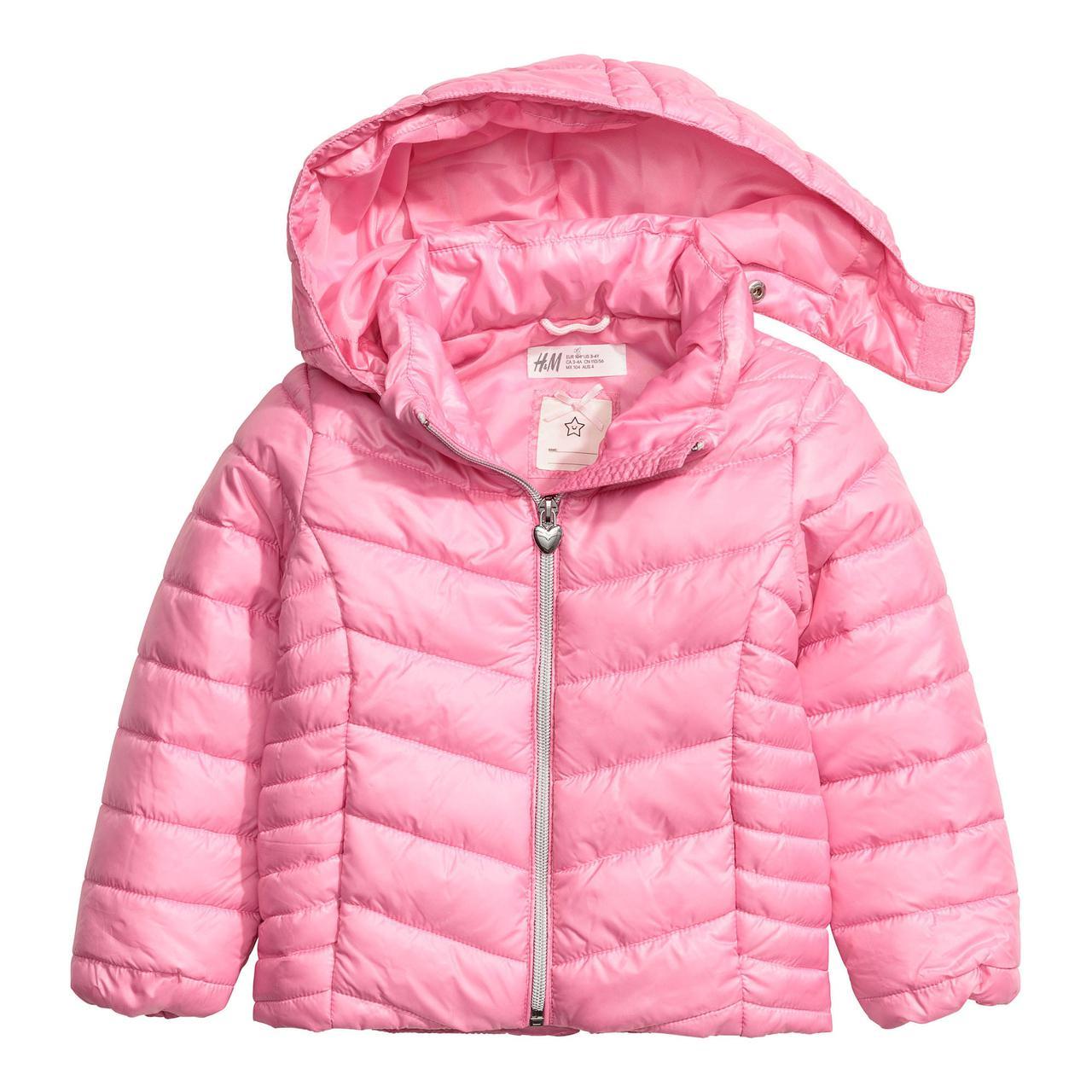 Куртка HM для девочек (Швеция) - МультиКид - интернет-магазин детских брендовых товаров в Киеве