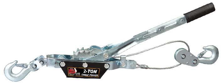 Лебедка механическая рычажная 2т (двойное зубчатое колесо) TORIN TRK8021