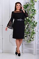 Нарядное платье, 065 ЕА батал ( 48-62), фото 1