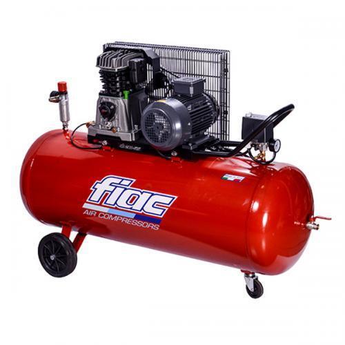 Компрессор поршневой с ременным приводом, Vрес=200л, 510л/мин, 380V, 3кВт FIAC AB200-510-380