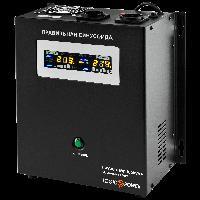 ИБП с правильной синусоидой LogicPower LPY-W-PSW-1000VA+ (700W) 10A/20A 12V для котлов и аварийного освещения