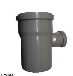 Тройник 110*50*90 для внутренней канализации  Инсталпласт