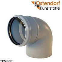 Колено 50*87 для внутренней канализации Ostendorf