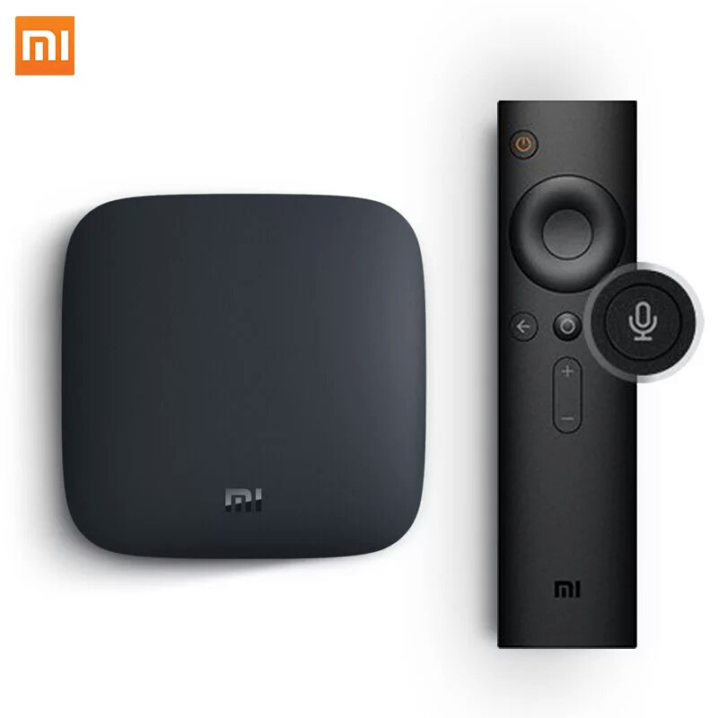 TV BOX smart TV Xiaomi Mi Box 3 4K 2/8Gb MDZ-16-AB International версия ОРИГИНАЛ