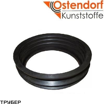 Переход на чугун 50/75 резина для внутренней канализации Ostendorf