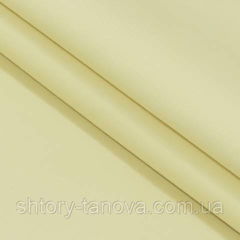 Декоративная ткань для штор, однотонный, светло-жёлтый