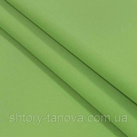 Водоотталкивающая ткань, однотонные, зелёный