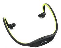 Наушники спорт MP3 плеер с радио и со слотом для карты памяти до 8 г MP3 Sport (TF+FM)