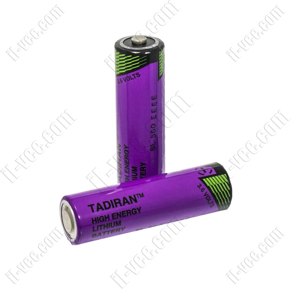 Литиевая батарея TADIRAN SL560/S 3,6V 1700 mA Li-SOCl2