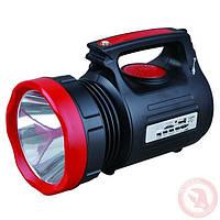 Аккумуляторный светодиодный фонарь (солнечная панель, USB) Intertool LB-0104