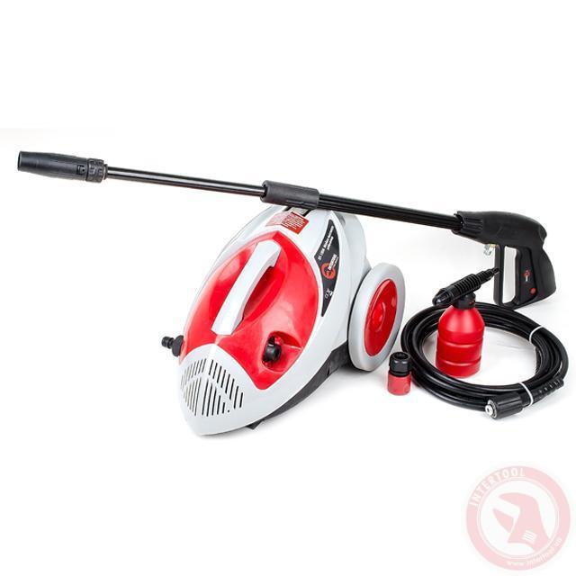 Очиститель высокого давления 1500Вт, 6 л/мин, 75-135бар