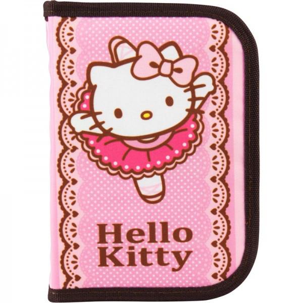 Пенал школьный  Kite Hello Kitty HK18-621-1