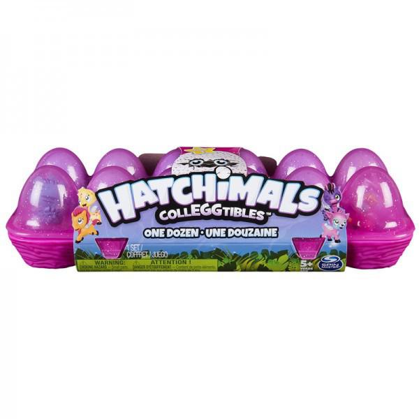 Hatchimals: лоточек з двенадцатью коллекционными фигурками в яйцах (в ассортименте)