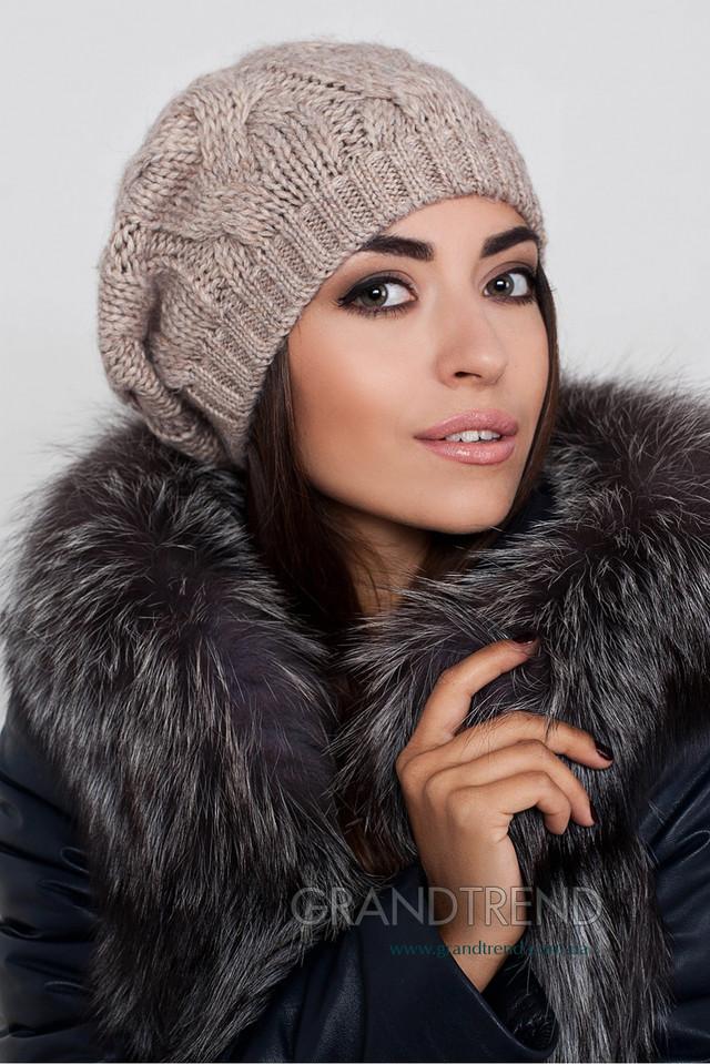 Вязанные шапки женские зима 2017 2017 своими