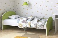 "Кровать подростковая ""Китти"" 80х190 см. Лайм+Белая"
