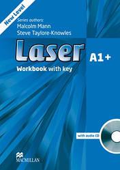 Laser 3rd Edition A1+ Workbook + key + CD