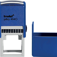Оснастка для круглой печати d40мм trodat 4940 синяя