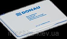 Штемпельная подушка для печати donau 7640001 размер 105х66 мм