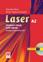Laser 3rd Edition A2 Student's Book + eBook Pack