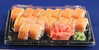Упаковка для суши 24х15см, ПП-18768, 1шт