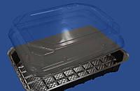 Упаковка для суши с крышкой ПС-63, 168х115мм, 1 шт