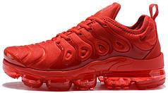Кроссовки мужские Найк Nike Air VaporMax Plus Red. ТОП Реплика ААА класса.