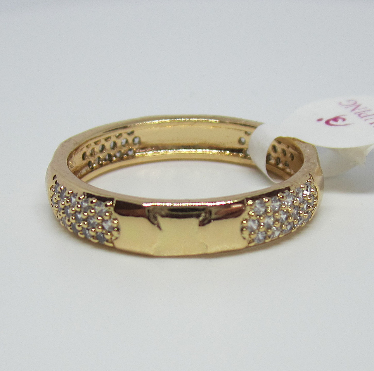 Кольцо XP Алиса, камни по кругу, размер 19, 20