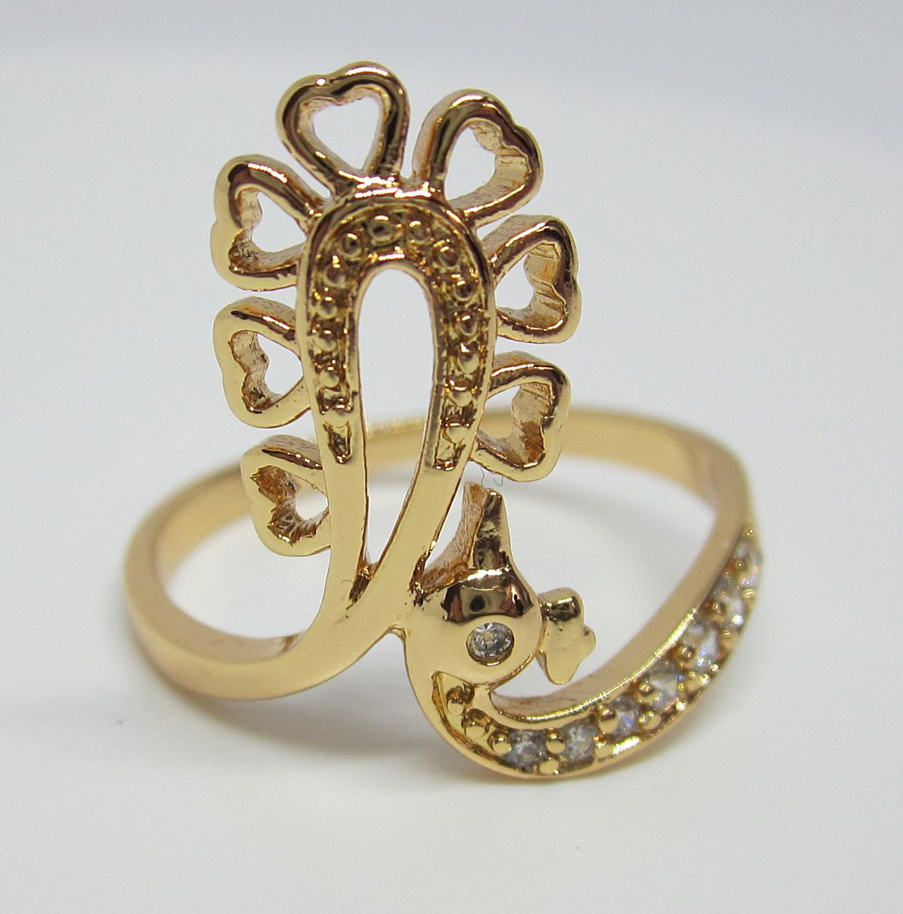 Кольцо XP Павлин, размер 17, 18, 19