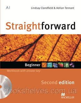 Straightforward 2nd Edition Beginner WorkBook + key + CD