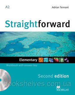 Straightforward 2nd Edition Elementary Work Book + key + CD