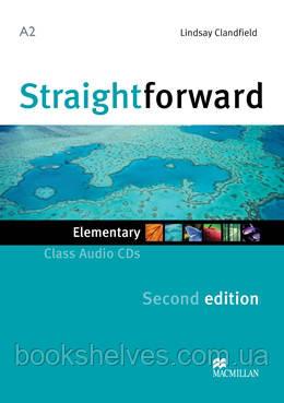 Straightforward 2nd Edition Elementary Class CDs
