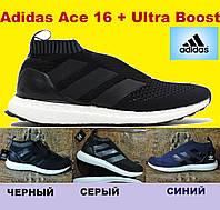 Мужские кроссовки  Adidas ACE 16 Purecontrol Ultra Boost, реплика