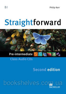 Straightforward 2nd Edition Pre-Intermediate Class CDs