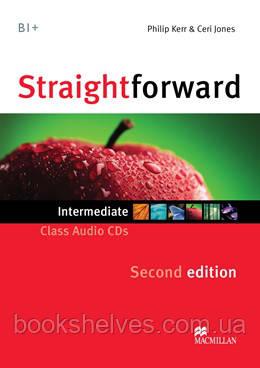 Straightforward 2nd Edition Intermediate Class CDs