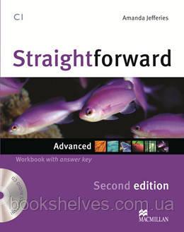 Straightforward 2nd Edition Advanced Work Book + key + CD