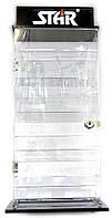 Стенд для зажигалок (на 16 зажигалок)(43,75х22,5х12,5 см)