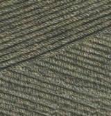 Нитки Cotton Gold Plus 270 Хаки Меланж, фото 2