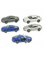 "Машина металл ""KINSMART"" KT5369W (96шт/4) Bentley Continental GT Speed, в кор.16*8,5*7,5cm"