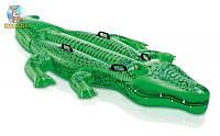 """Надувная игрушка """"Крокодил"""" Интекс"""