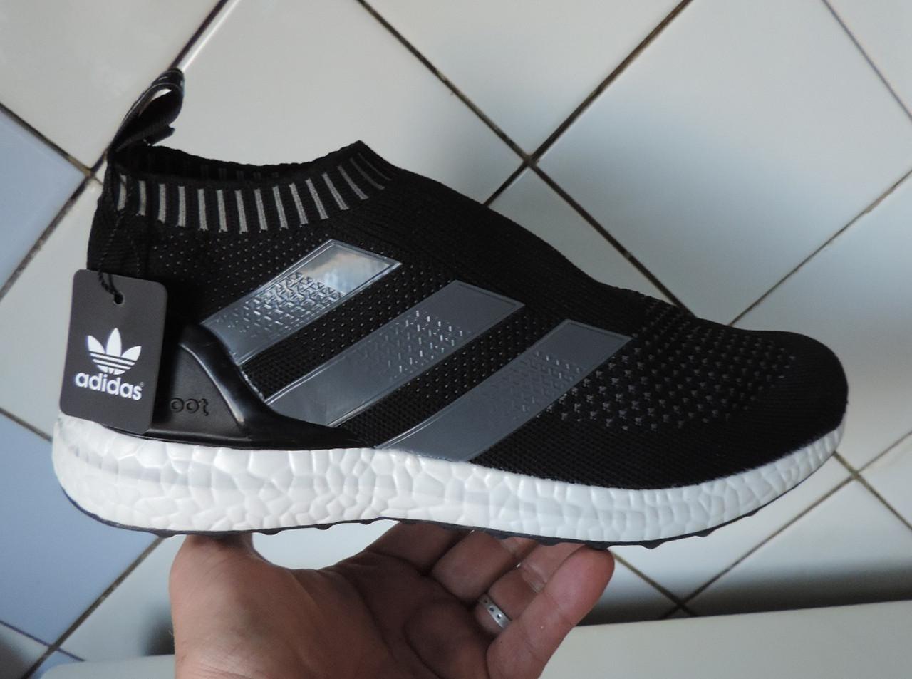 1b8b3f14 Беговые кроссовки мужские Adidas ACE 16 + PureControl Ultra Boost, реплика  -