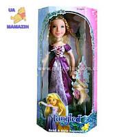 Кукла Рапунцель 60см