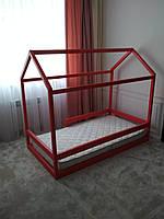 Домик-кровать с перилами