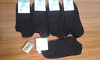 - р 25,27,29 (39/40,41/42,43/44) - Супер-Короткие - мужские носки - Черные - Реальные/замеры --