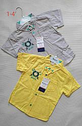 Детская рубашка для мальчика (1 - 4 лет) купить оптом в Украине 7км