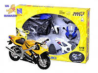 Коллекционный Мотоцикл сборка (1:12) SUZUKI N.R.